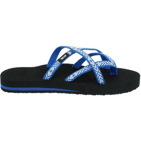 Teva Olowahu Sandalen Dames blauw/wit